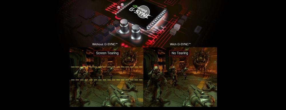 écran asus pg248q nvidia g-sync