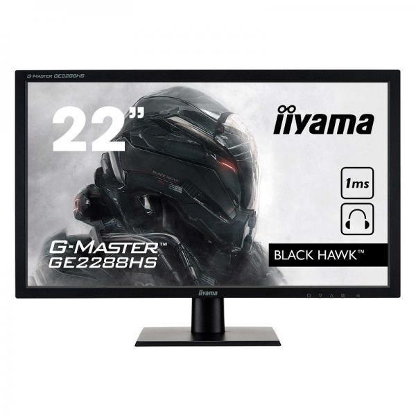"écran iiyama 22"" led g-master ge2288hs-b1"