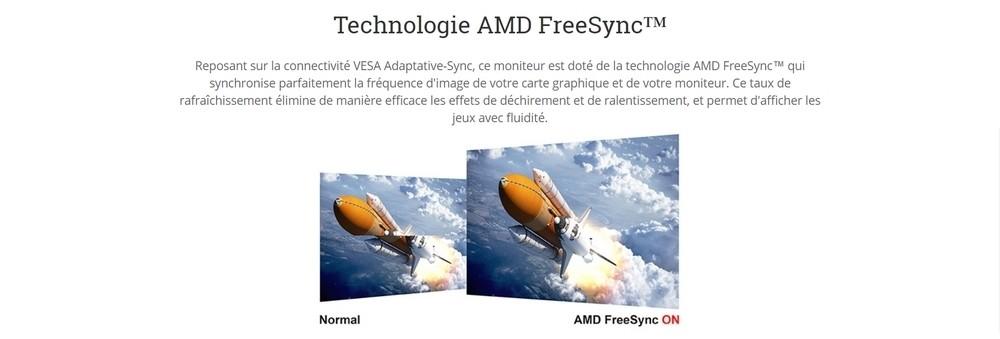 écran viewsonic vx2257 amd freesync