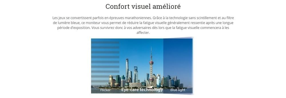 écran viewsonic vx2257 confort