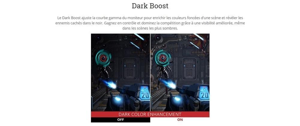 écran viewsonic xg2703 gs dark boost