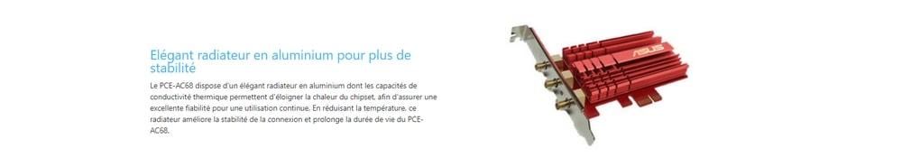 asus pce-ac68 design