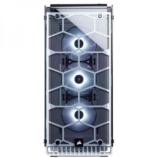 boitier corsair crystal 570x blanc rgb
