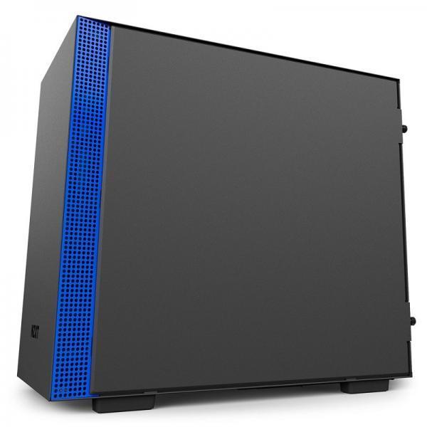 boitier nzxt h200 noir bleu