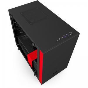 boitier NZXT H200 Noir-Rouge