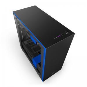 boitier nzxt H700i Noir-Bleu