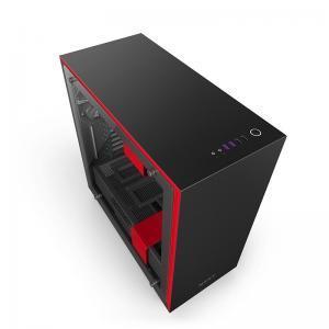 boitier nzxt H700i Noir-Rouge