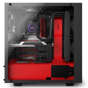 boitier xzxt s340 elite noir rouge