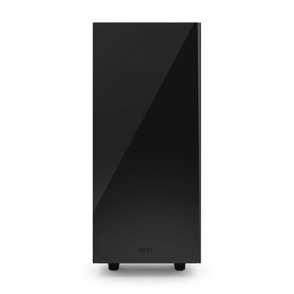 boitier nzxt source 340 black red