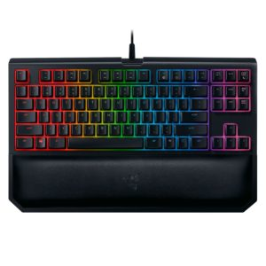clavier razer blackwidow tournament edition chroma v2 touches verts