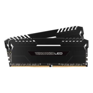 memoire corsair vengeance Vengeance LED Series Blanc 16Go (2x8Go) DDR4 2666MHz CL16
