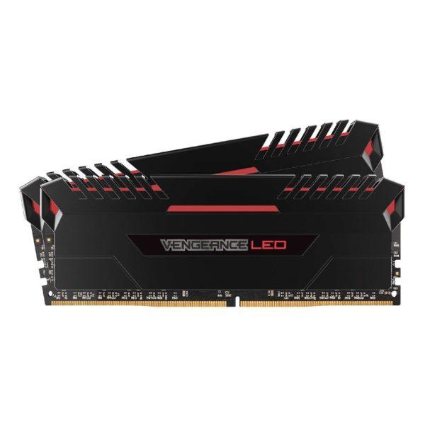 memoire corsair Vengeance LED Series Rouge 16Go (2x8Go) DDR4 3000MHz CL15