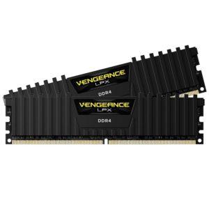 memoire corsair Vengeance LPX Noir 16Go (2 x 8Go) DDR4 2400MHz CL14