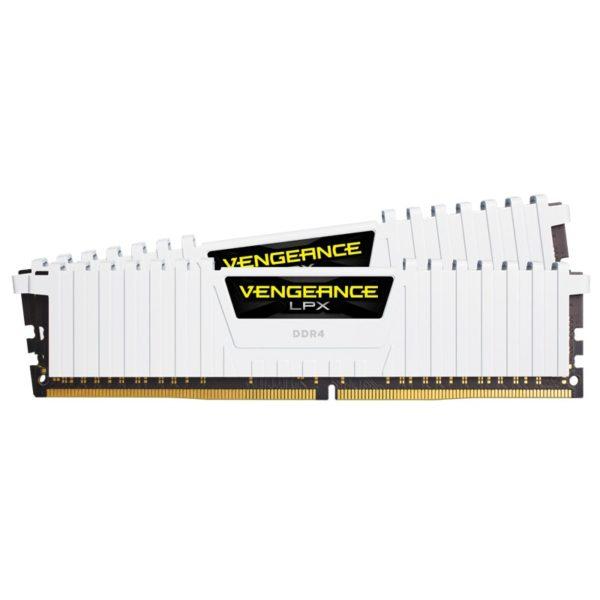 memoire corsair Vengeance LPX Blanc 16Go (2 x 8Go) DDR4 3200MHz CL16
