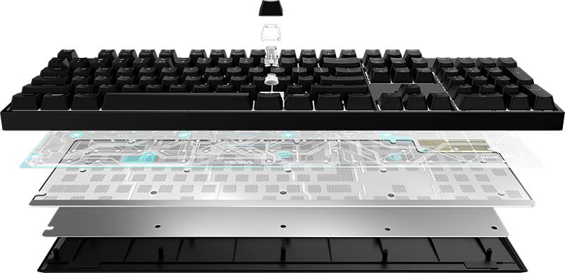 pack clavier souris cooler master masterkeys lite rgb combo keyboard
