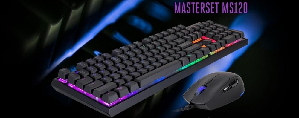 pack clavier souris cooler master masterset ms120 banner