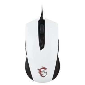 souris msi clutch gm40 blanc