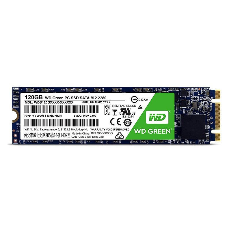 ssd western digital 120 go