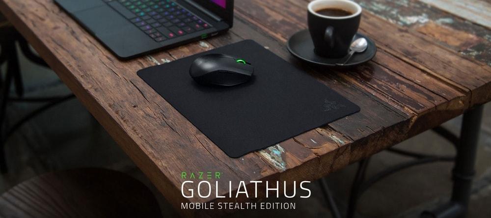 tapis de souris razer goliathus mobile stealth edition banner