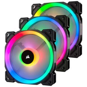 ventilateur corsair ll series ll120 rgb triple pack