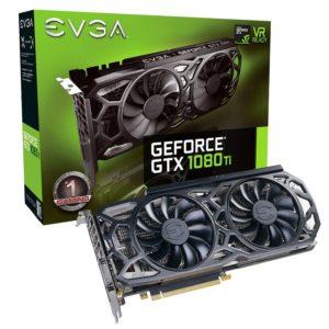 cgu EVGA GeForce GTX 1080 Ti SC Black Edition ICX 11Go