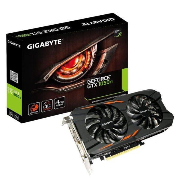 cgu gigabyte geforce gtx 1050 ti windforce oc 4go