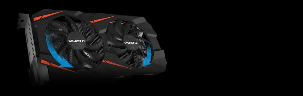 cgu gigabyte geforce gtx 1060 windforce oc 6go fan