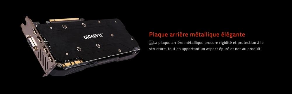 cgu gigabyte geforce gtx 1070 g1 gaming plaque arriere