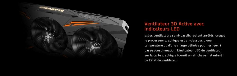 cgu gigabyte geforce gtx 1070 g1 gaming ventilateur 2