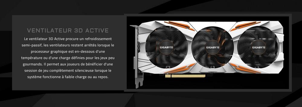cgu gigabyte geforce gtx 1080 ti gaming oc 11go ventilateurs