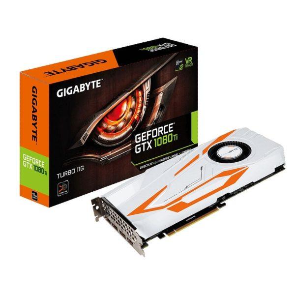 gpu gigabyte geforce gtx 1080 ti turbo 11go