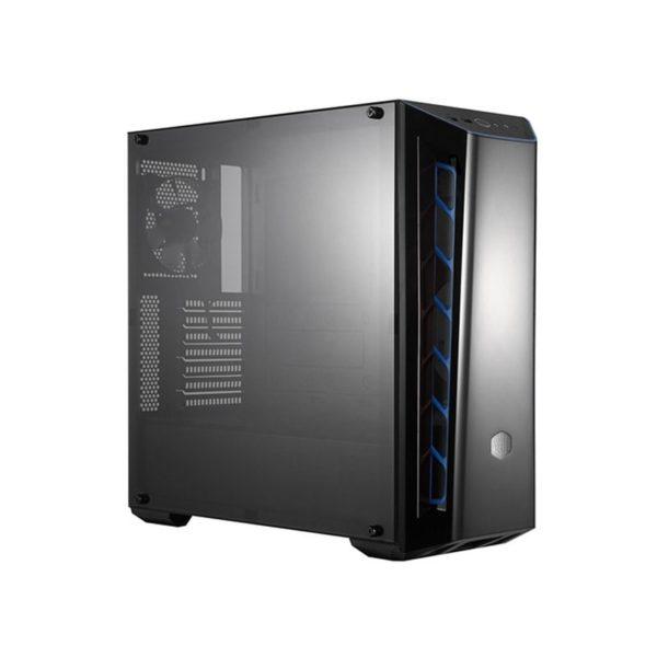 boitier cooler master masterbox mb520 noir-bleu