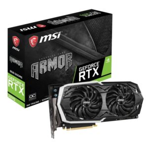 MSI GeForce RTX 2070 ARMOR 8G OC