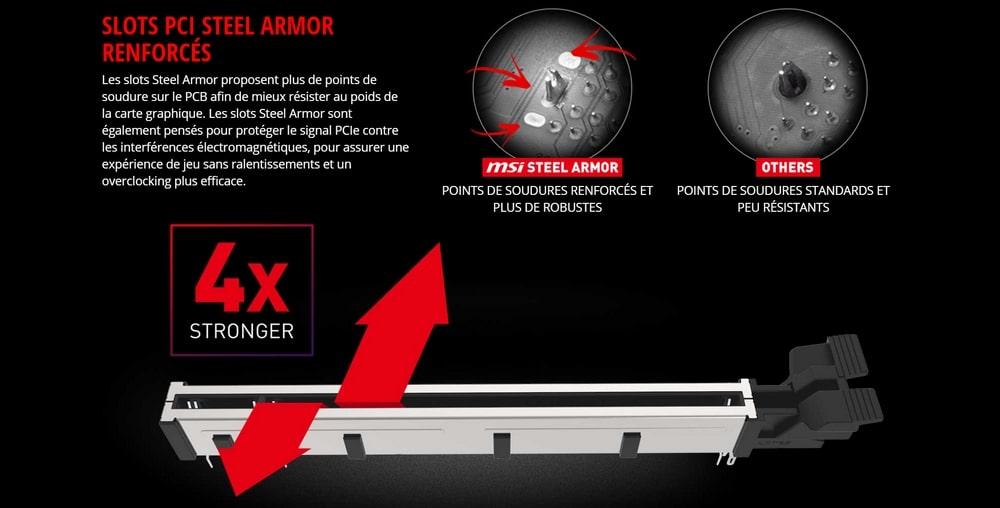 carte mere msi z390 steel armor